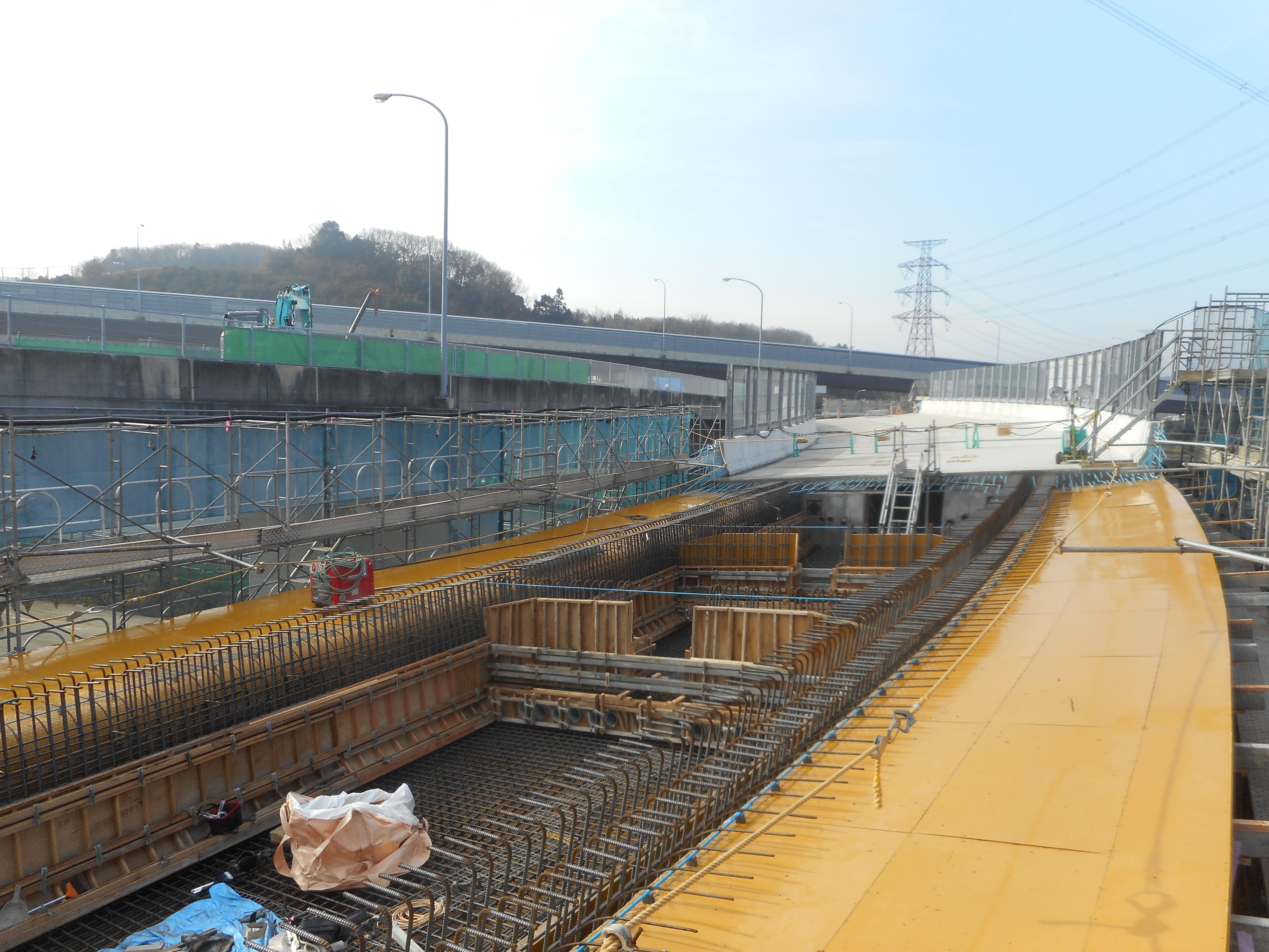 新名神神戸JCT東(兵庫県神戸市)